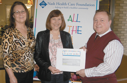 Women of the Moose donate to Nash Health Care Foundation