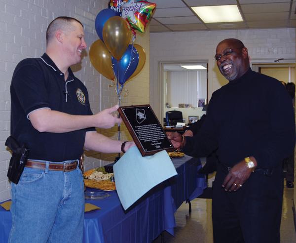 Nash Sheriff's Major retires