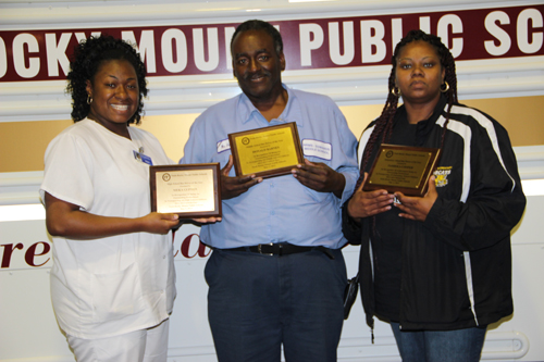 Nash-Rocky Mount Schools celebrates bus drivers