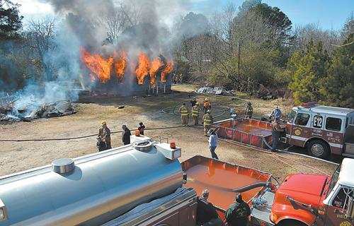 LIVE BURN TRAINING EXERCISE