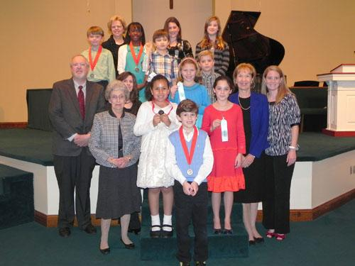 Area youth earn honors at PianOlympics competition