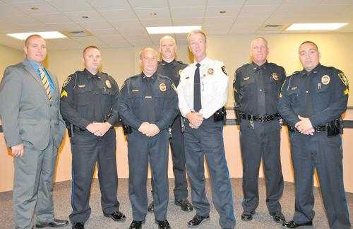 Nashville Police Officers recognized for achievements