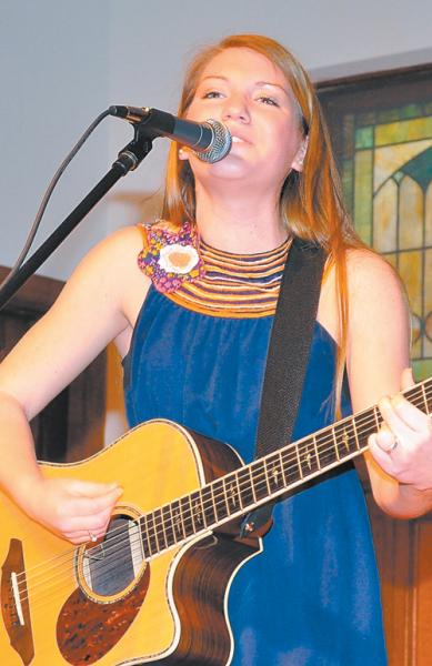 Meredith Davis in concert at Nash Arts Center