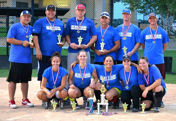 LEAGUE SOFTBALL CHAMPIONS