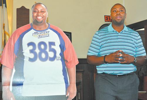 """""""Biggest Loser"""" contestant visits Nashville church"""