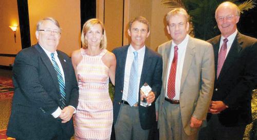 NC Hospital Association honors Andracchio with service award