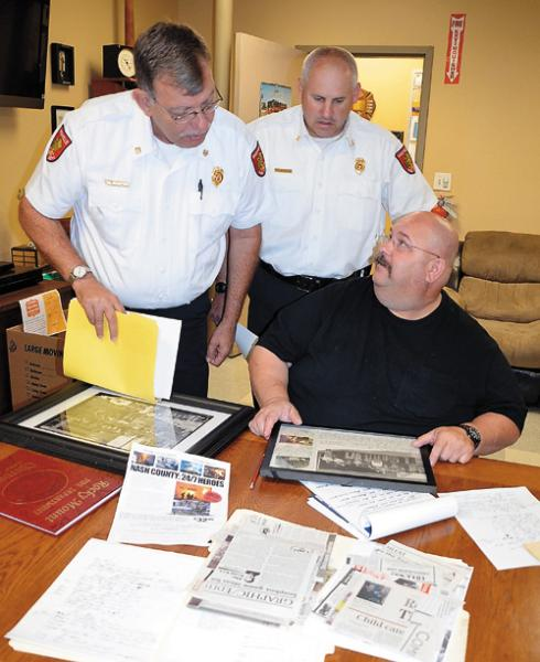 History book to honor Nash County Fire and EMS