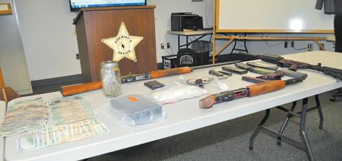 Sheriff's investigation nets four arrests