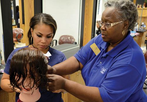 NCC Director of Cosmetology recognized