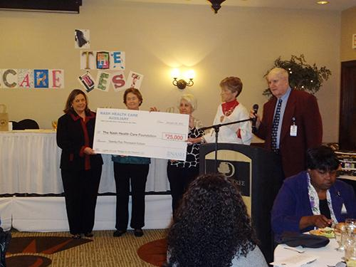 Nash Health Care honors volunteers